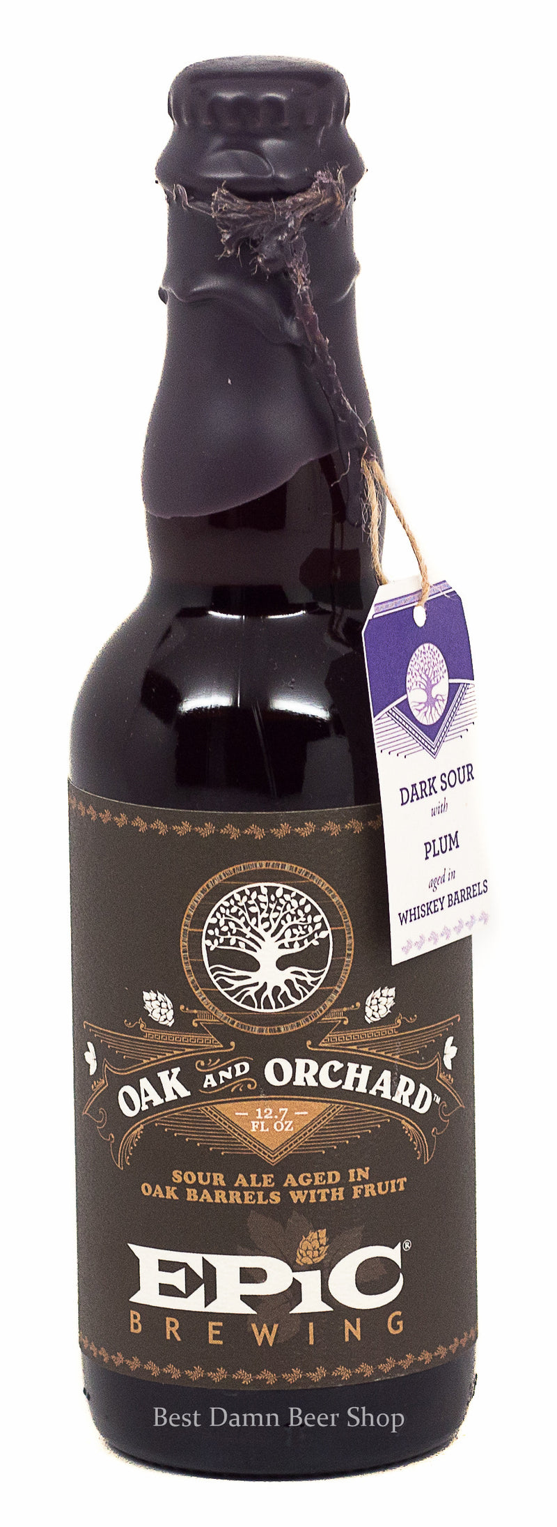 EPIC BREWING OAK AND ORACHARD DARK SOUR 375ML PLUM