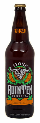 Stone RuinTen IPA Orange & Vanilla BEAN 22oz