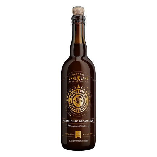 Ommegang Upside Brown Farmhouse Brown Ale