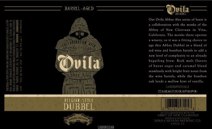 Ovila Abbey Barrel-Aged Dubbel