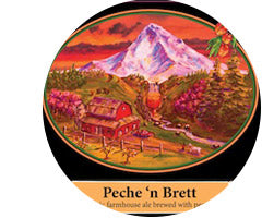 LOGSDON FARMHOUSE ALES PECHE N' BRETT 375ml