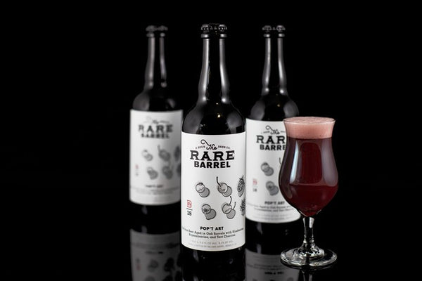 The Rare Barrel POP'T ART 750ml  Blueberries, Boysenberries, and Tart Cherries