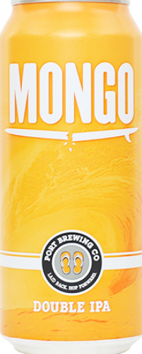 PORT BREWING CO. MONGO DOUBLE IPA 16oz can