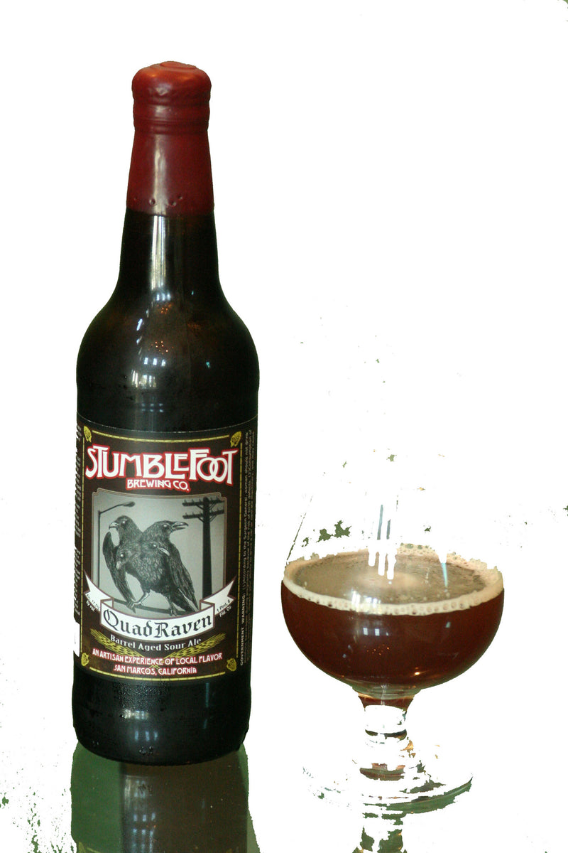 Stumblefoot Brewing Quad Raven Sour 22oz LIMIT 2