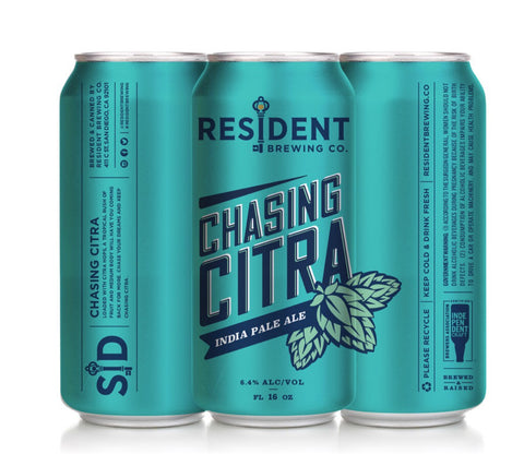 RESIDENT CHASING CITRA IPA 16OZ CAN
