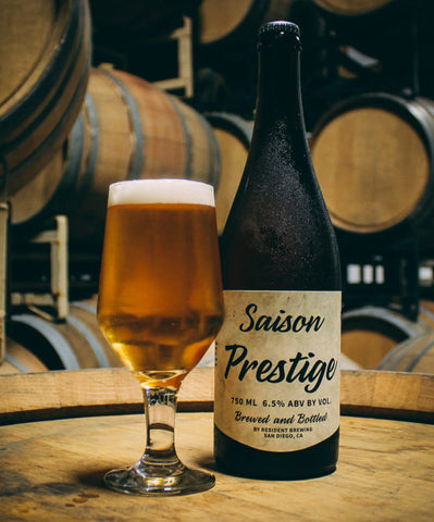 Resident Brewing Saison Prestige 750ml LIMIT 2