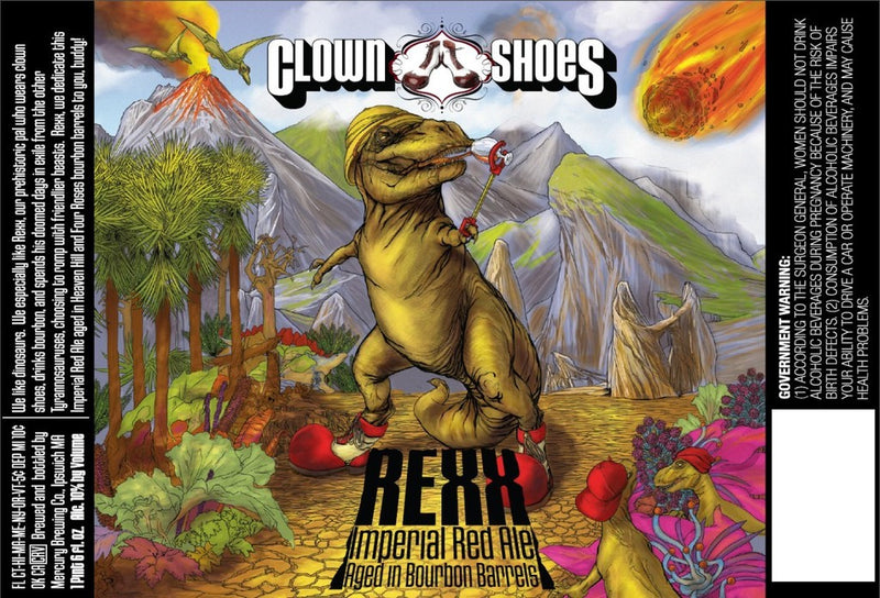 Clown Shoes Rexx Bourbon Barrel Aged Imperial Red