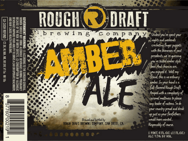 Rough Draft Amber Ale