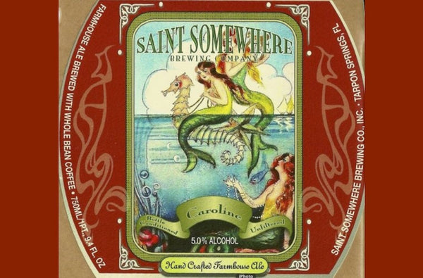 St. Somewhere Saison Caroline 750ml LMT 2