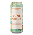 JuneShine Hard Kombucha Blood Orange Mint 16oz cans