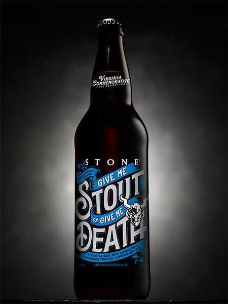 STONE GIVE ME STOUT OR GIVE ME DEATH 22OZ