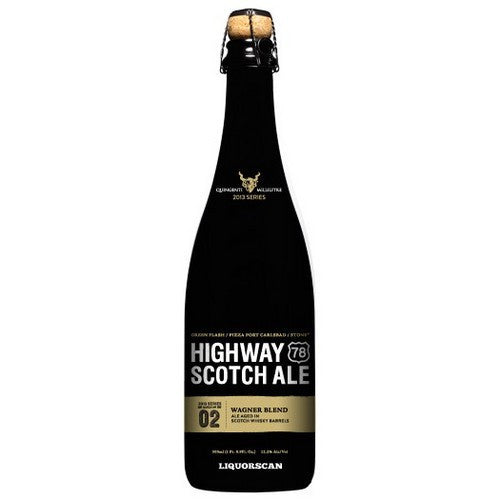 Stone Highway 78 Scotch Ale The Chuck / Jeff / Mitch Blend Aged in Scotch Whiskey Barrels