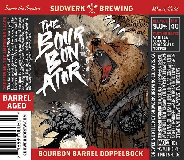 Sudwerk The Bourbonator Bourbon Barrel Doppelbock