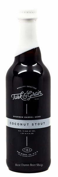 Saint Archer Tusk & Grain Coconut Stout 500ml