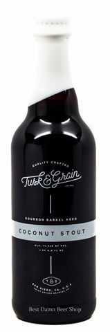 Saint Archer Tusk & Grain Coconut Stout 500ml LIMIT 1