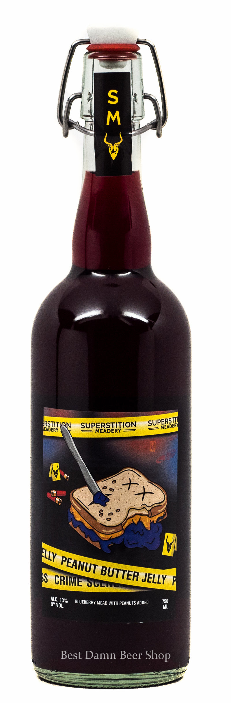 Superstition Meadery Peanut Butter Jelly Crime 750ml
