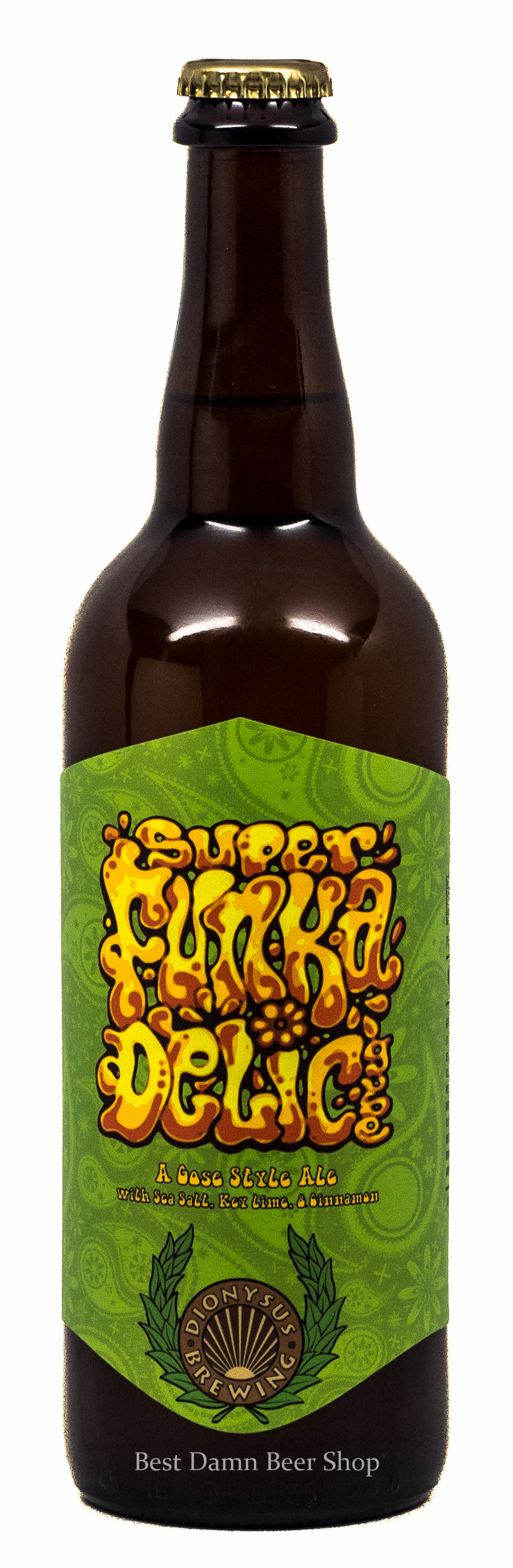 Dionysus Brewing Super Funkadelic w Key Lime and Cinnamon Graham Crackers 750ml