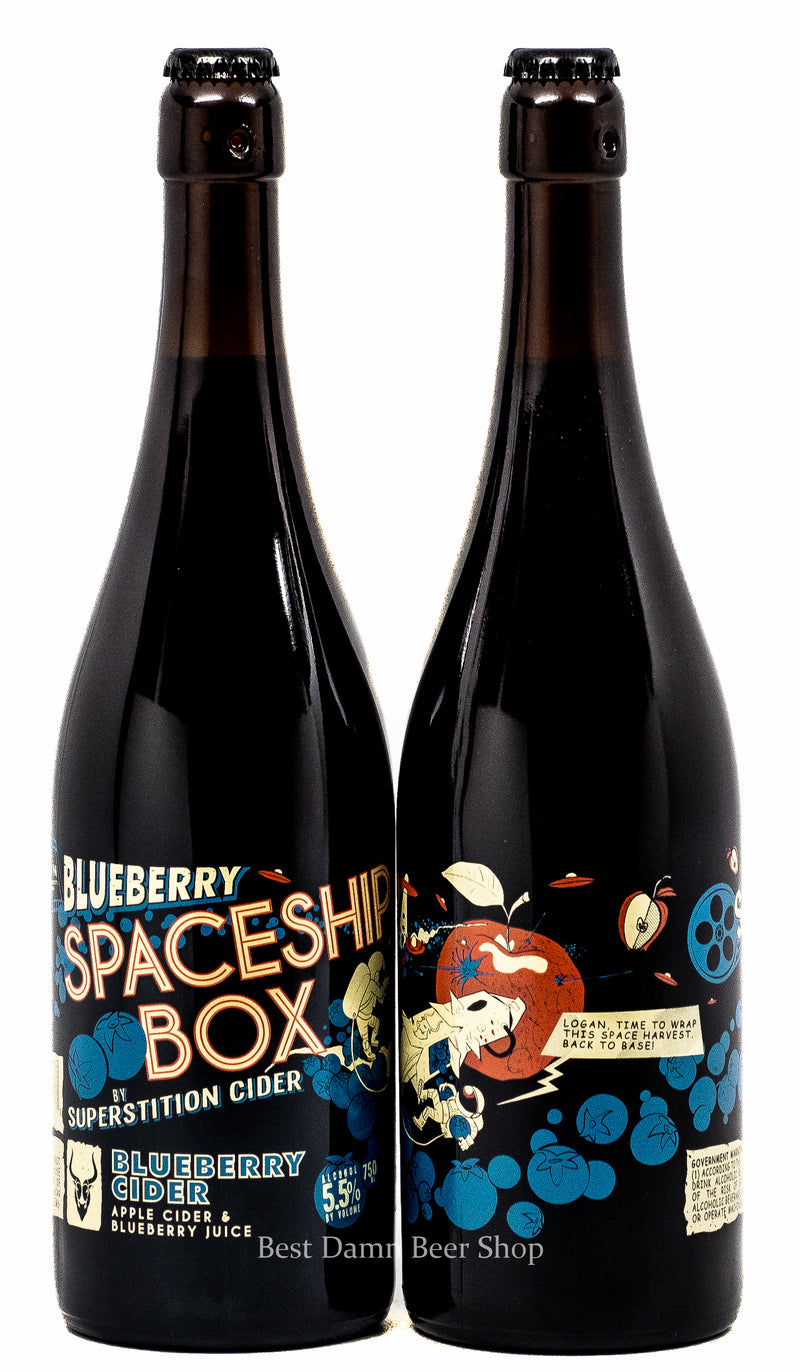 Superstition Cider House Blueberry Spaceship Box 750ml