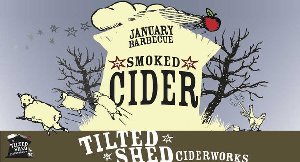 Tilted Shed January BBQ 375ml