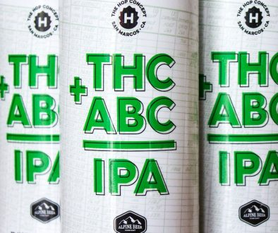 THE HOP CONCEPT/ALPINE BEER COMPANY THC + ABC = IPA 16oz CANS
