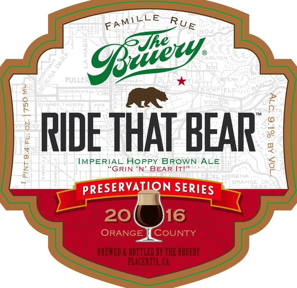 The Bruery Ride That Bear 750ml