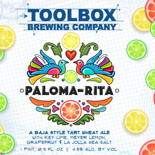 Toolbox Brewing Paloma-Rita 500ml LIMIT 2