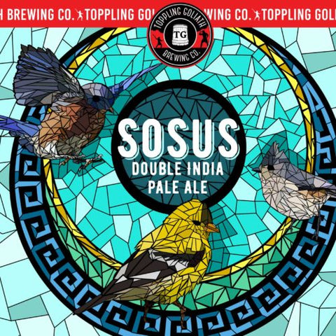 Toppling Goliath Sosus Double IPA 22oz