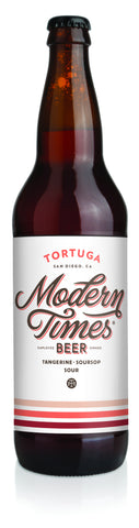 Modern Times Tortuga 22oz Berliner with tangerines