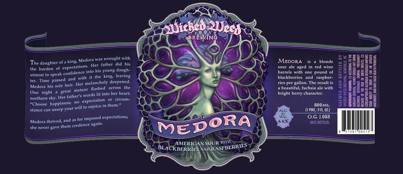Wicked Weed Medora Sour 500ml LIMIT 1 (Read Order Info)