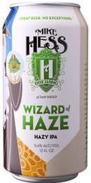 MIKE HESS BREWING WIZARD OF HAZE HAZY IPA 12oz can