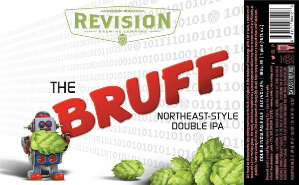 Revision Brewing The BRUFF 16oz cans