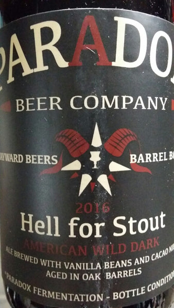 Paradox Hell For Stout 500ml