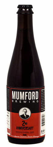 Mumford Brewing 2nd Ann. BBA Barleywine 500ml