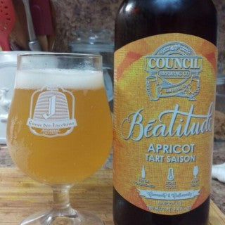 Council Beatitude Apricot Tart Saison 750ml NO LIMIT