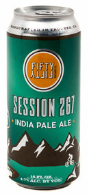 FiftyFifty Brewing Company Session 267 IPA 16oz cans
