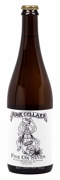 Sour Cellars Five or Seven passion fruit 750ml
