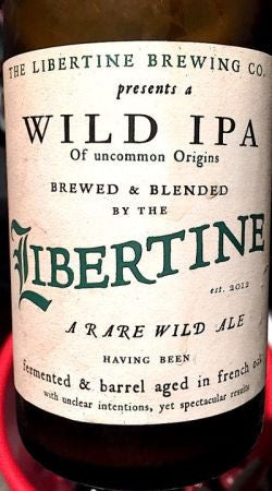 Libertine Wild IPA 750ml LMT 1