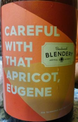 Beachwood Blendery Careful with that Apricot, Eugene 500ml