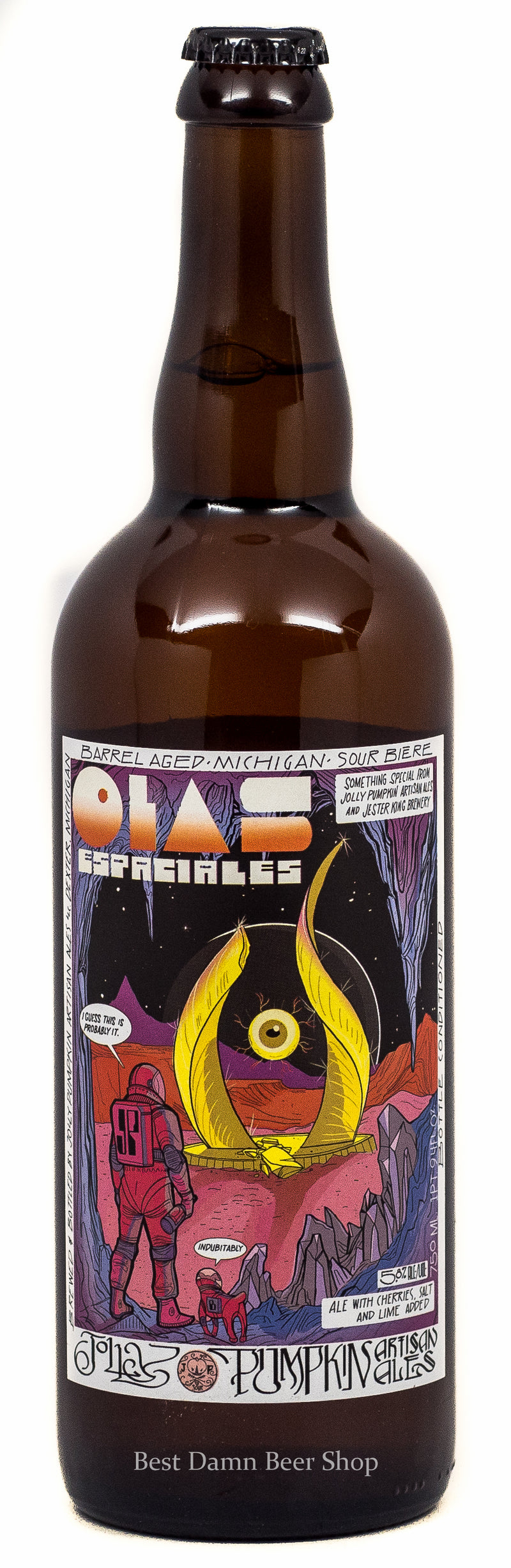 Jolly Pumpkin Brewery Jester King Brewery Olas Espaciales 750ml