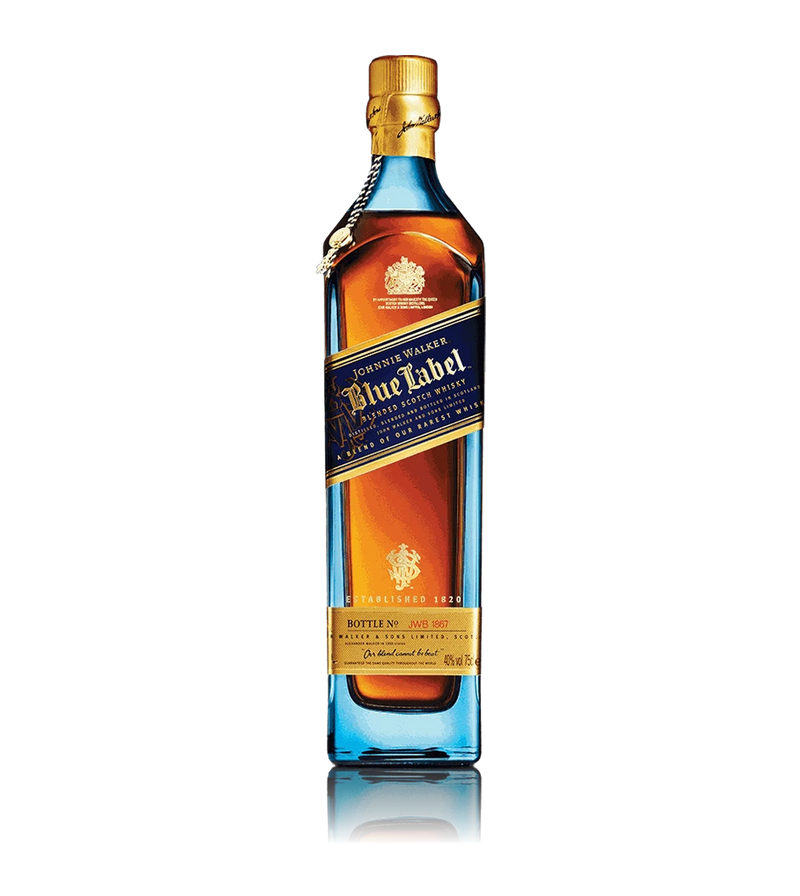 JOHNNIE WALKER BLUE BLENDED SCOTCH WHISKEY