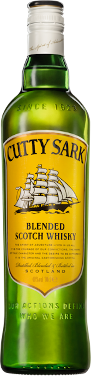 CUTTY SARK BLENDED SCOTCH WHISKEY