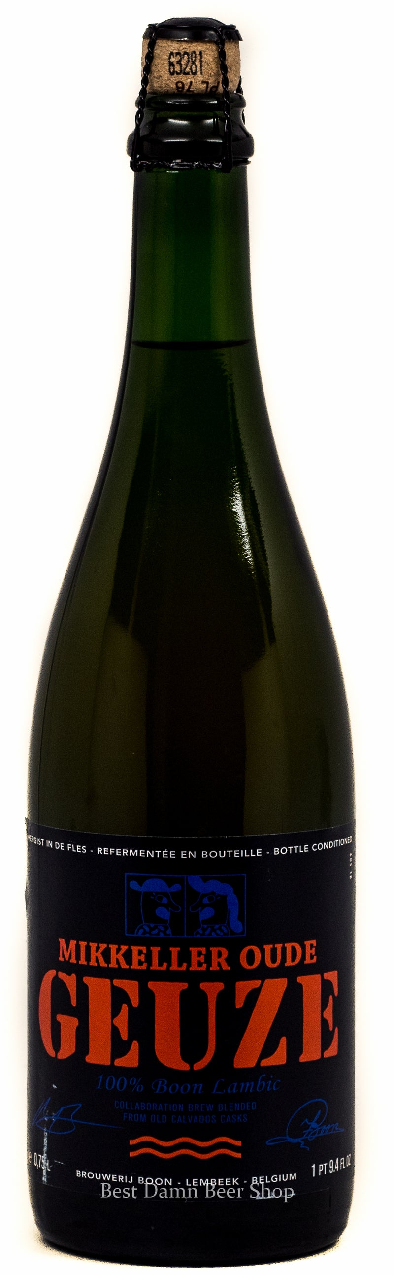 Mikkeller Oude Geuze 750ML LIMIT 2 Collab with Boon