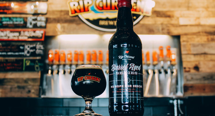 RIP CURRENT BOURBON BARREL-AGED NO HOPE FOR RESCUE 500ML LIMIT 1