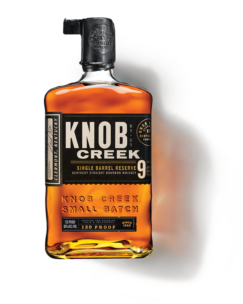 KNOB CREEK SINGLE BARREL 9 YEAR KENTUCKY STRAIGHT BOURBON