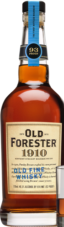 OLD FORESTER 1910 OLD FINE KENTUCKY STRAIGHT BOURBON