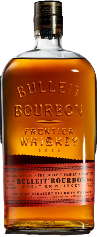 BULLEIT DISTILLING KENTUCKY STRAIGHT BOURBON 1.75L