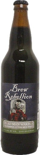 Brew Rebellion Dead Man Walking Vietnamese Coffee Stout 22oz