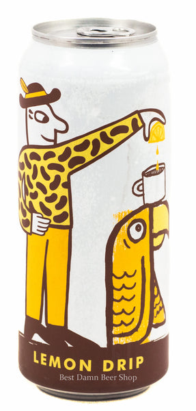 Green Cheek Beer Co Mikkeller Lemon Drip 500ml cans LIMIT 2