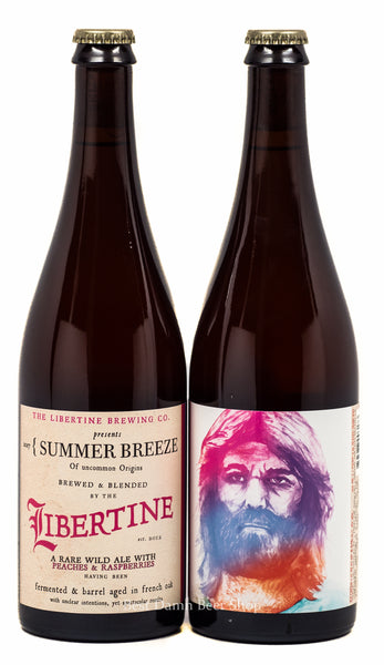 Libertine Summer Breeze 750ml Peaches and Raspberries