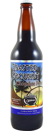 Caldera Toasted Coconut Porter 22oz